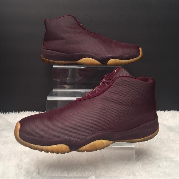0a91f71ba63881 Jordan Other - Nike Air Jordan Future Burgundy Metallic Gold